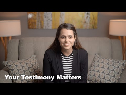 Why Is Your Testimony Important?  Gateway Teaching by Nicole Grey