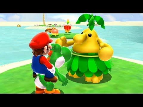 Super Mario Galaxy 2 Walkthrough - Part 22 - Starshine Beach Galaxy - UCNmP3TUBqcqAI3KSpUBIePA