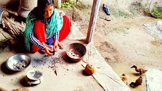 Village aunty Fish Cutting   Village Style Cutting   Amazing Fish Cutting Skills