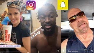 WWE Snapchat/Instagram ft. Alexa Bliss, Stone Cold Steve Austin, Kofi Kingston, Mandy Rose n MORE