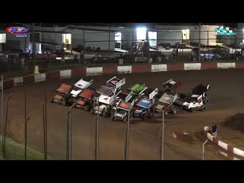 Historic Dixie Speedway Brings you the USCS Winged Outlaws Feature Event from 07/10/202121 - dirt track racing video image
