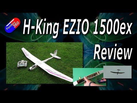 RC Revews: H-King EZIO 1500ep Plane Review - UCp1vASX-fg959vRc1xowqpw