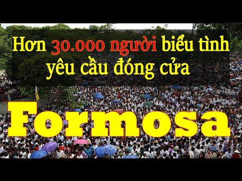 Hơn 30.000 giáo dân tuần hành phản đối Formosa