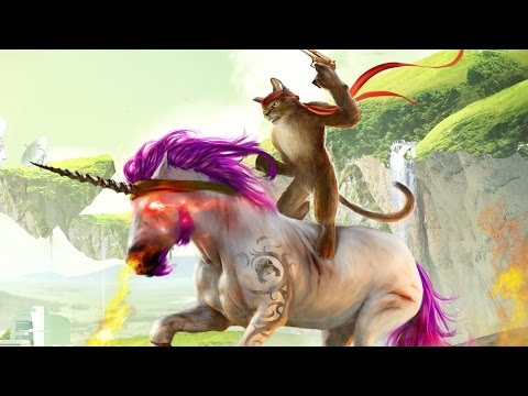 Man, Machine and a... Cat Riding a Unicorn?!?!? - Trials Fusion - IGN Plays Live - UCKy1dAqELo0zrOtPkf0eTMw