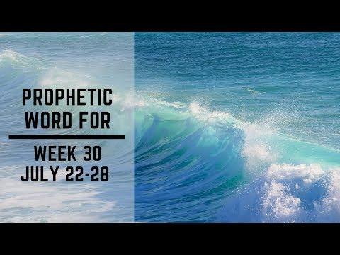 Weekly Word 22 July 2019