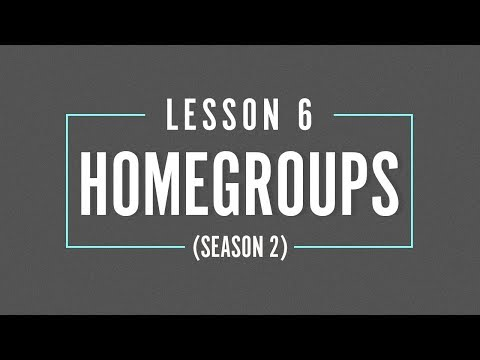 HOME GROUP Season 2 - LESSON 6 - Fight Like a Pro