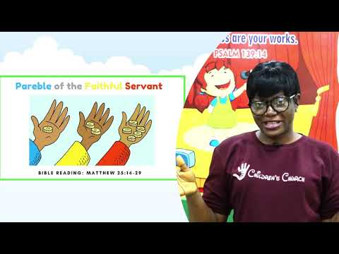 1-5years Children Church Service at The Covenant Nation 04102020