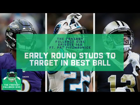 Who to Target Early in 2020 Fantasy Best Ball | Fantasy Football Podcast