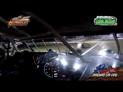 #5 John Briggs - Cash Money Late Model - 10-2-2020 Humboldt Speedway - In Car Camera - dirt track racing video image