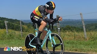 Wout van Aert out of Tour de France after scary Stage 13 crash | NBC Sports