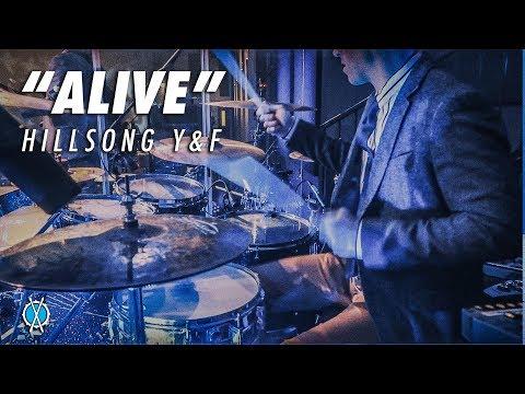 Alive Drum Cover // Hillsong Y&F // Daniel Bernard