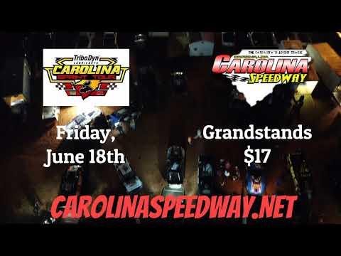 Carolina Sprint Tour Promo at Carolina 6/18/21 - dirt track racing video image