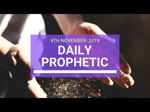 Daily Prophetic 9 November Word 3