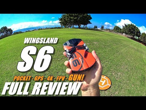 WINGSLAND S6 - Full Review - [UnBoxing, Inspection, Setup, Flight Test, Gun/Light Test, Pros & Cons] - UCVQWy-DTLpRqnuA17WZkjRQ