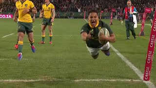 Rugby Championship : Essai de filou d'Herschel Jantjies