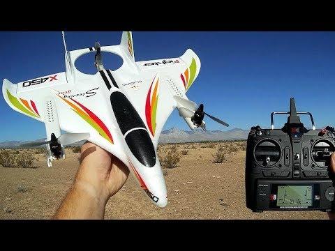 XK X450 Aviator VTOL RC Airplane Flight Test Review - UC90A4JdsSoFm1Okfu0DHTuQ