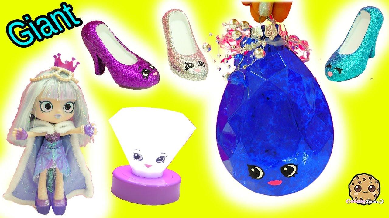 DIY Limited Edition Shopkins Inspired Gemstone, Light Up Diamond U0026 Lipgloss  Shoes   Painting Video   RcReviews.lt