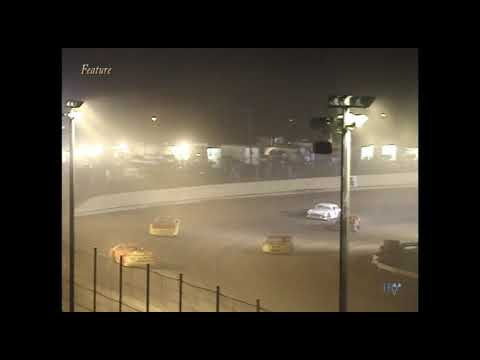 Full race from the Super Stock division at Hartford Speedway Park in MI July 6, 2001. - dirt track racing video image
