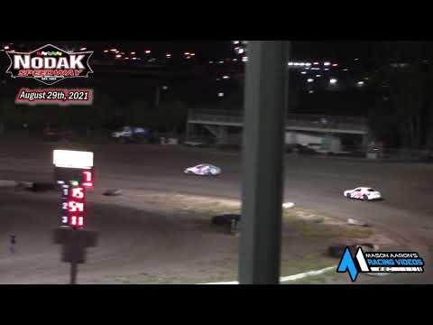 Nodak Speedway IMCA Sport Compact Races (8/29/21) - dirt track racing video image