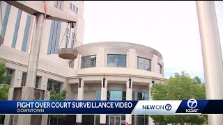 Legal battle erupts over surveillance video of alleged wrongful ICE arrest