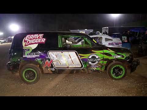Nick Adams #N90 @ Mountain View Raceway May 22, 2021 - dirt track racing video image