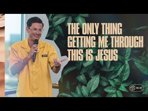 The Only Thing That's Getting Me Through This Is Jesus  Pastor Chad Veach