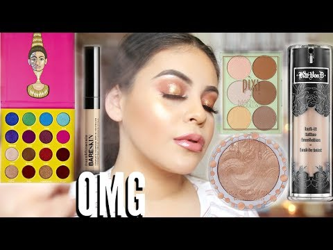TESTING MY SUBSCRIBERS FAVORITE MAKEUP: FULL FACE OF FIRST IMPRESSIONS! | JuicyJas - UCqTR5f7YkGro3cPv23SqcqQ