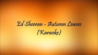Autumn Leaves(Karaoke)