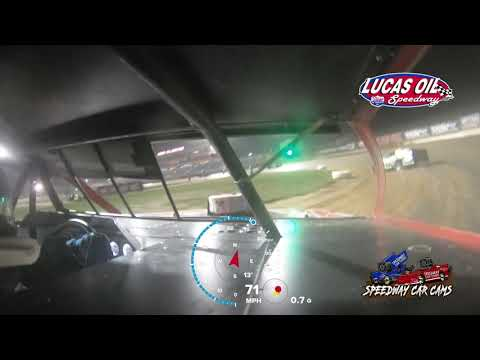 #00 Scott Bryant - USRA Modified - 10-7-2021 Lucas Oil Speedway - In Car Camera - dirt track racing video image