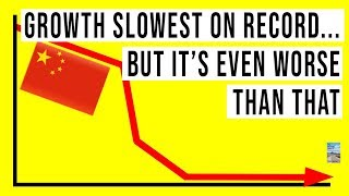 China's Economic Growth SLOWEST On Record! Many Reports of FAKE China GDP!