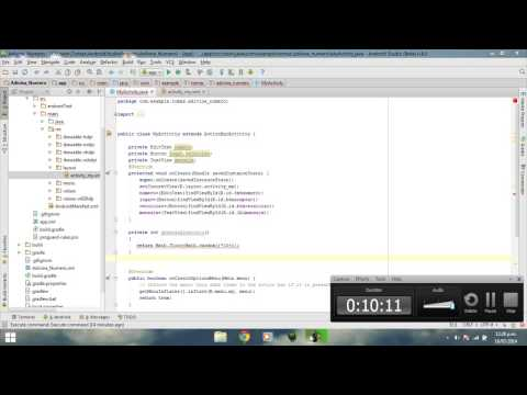 promo code 09fec 71159 Android Studio Tutorial 1.4 | Juego Android Adivina el numero | Android  Game Guess The Number - 23:09