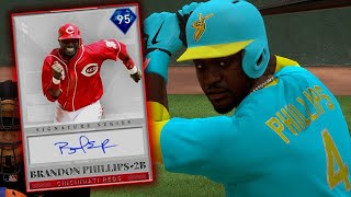 95 Brandon Phillips Debut! Willie Mays Makes Signature Catch at Polo Grounds! - MLB The Show 19