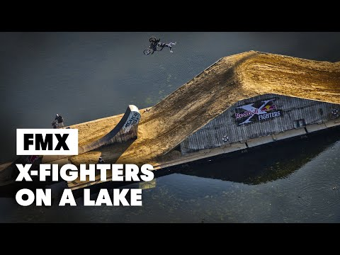 First Ever FLOATING Freestyle Motocross Course - Red Bull X-Fighters Munich 2014 - UC0mJA1lqKjB4Qaaa2PNf0zg