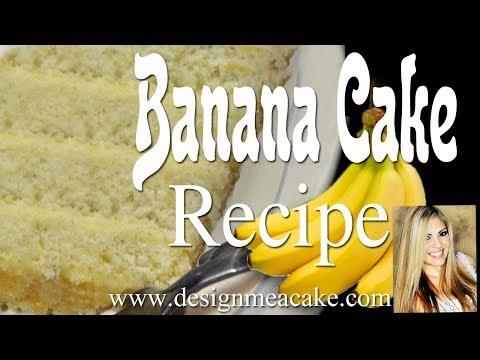 Best Banana Cake Recipe - UCzMRW_B_9uNJUNc57jl262w