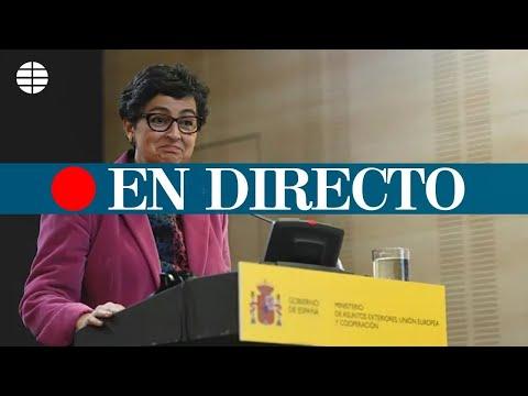 DIRECTO | González Laya informa de las negociaciones sobre Gibraltar con Reino U