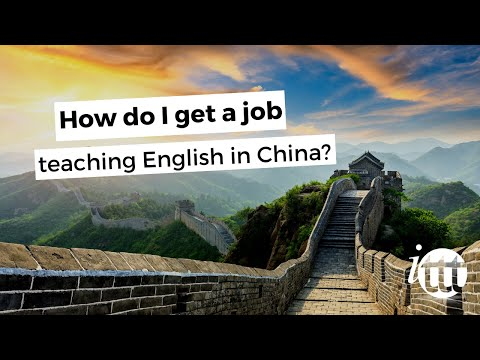 how do I get a job in China?