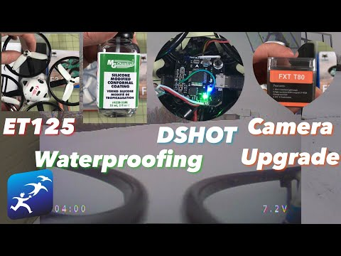 Waterproof a drone, ET125 DSHOT, FXT T80 Camera Review, FPV Gloves. There is a LOT going on here - UCzuKp01-3GrlkohHo664aoA