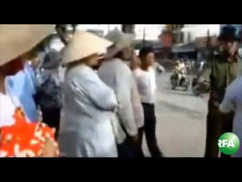 Dân oan biểu tình ở Sài Gòn