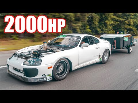 2000HP Billet 2JZ Supra and 2020 MKV Supra 1000 Mile Road Trip - Pushing the Limits of the Supra!