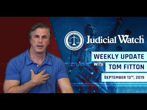 Tom Fitton: Finally, a Prosecution of the Deep State? NEW DOJ/State Docs CONFIRM Coup against Trump