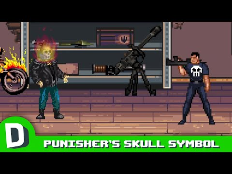 Ghost Rider Should Have The Punisher's Symbol