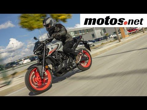 Yamaha MT-125/MT-03   Presentación / Primera prueba / Test / Review en español HD