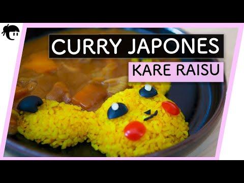 ? # 02 COMO preparar  PIKACHU  CURRY JAPONÉS?? ( KARE  RAISU) ?? RECETAS japonesas con TAKA SASAKI