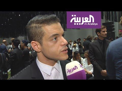 الممثل الأمريكي من أصل مصري رامي كامل في صباح العربية