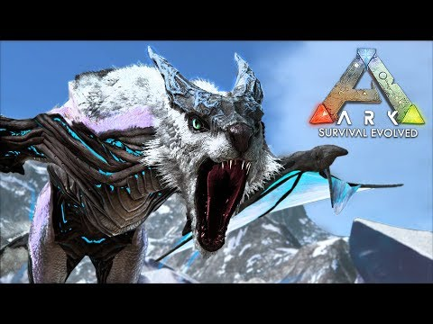 """ARK: Survival Evolved - ICE DRAGON """"MANAGARMR"""" TAMING!! (ARK Extinction Gameplay) - UC2wKfjlioOCLP4xQMOWNcgg"""