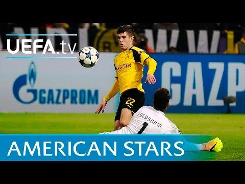 America's magnificent seven: Pulišić joins exclusive UEFA Champions League club