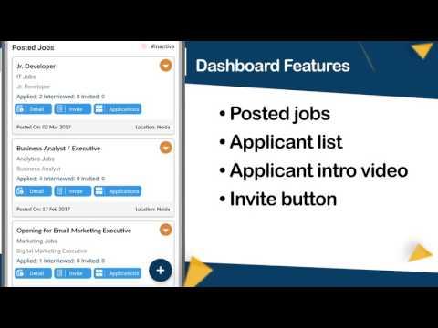 QuikHiring Mobile App - Recruiter Process Explained