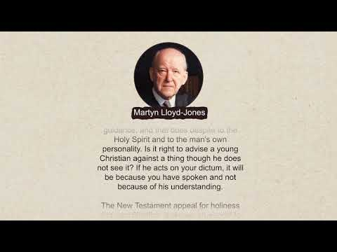 Lloyd-Jones: Do Not Be A Young Believer's Conscience