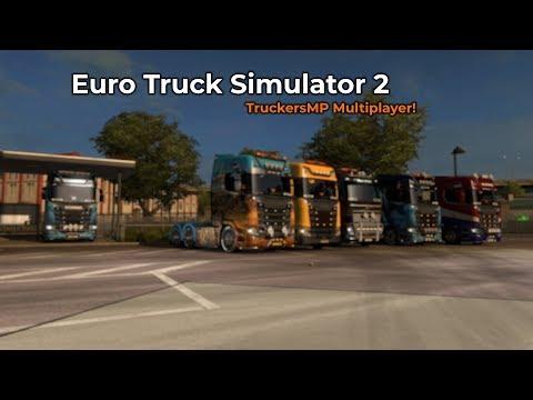 Euro Truck Simulator 2  TruckersMP Opname 01032018