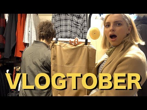SHOPPING AT ARITZIA! | VLOGTOBER 30